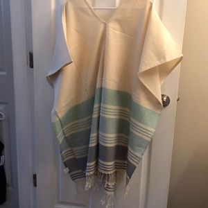 Tops - Beach poncho / cover up *brand new w/o tag